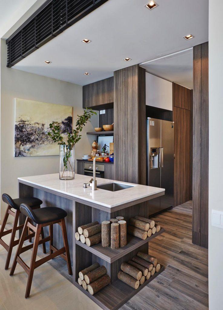 Trilliant Residences Kitchen