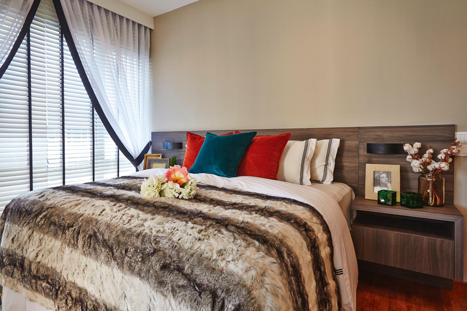 Trilliant Residences Master Bedroom